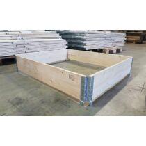 Raklapmagasító keret 80x120 Új Ipari minőség