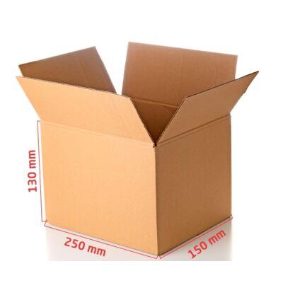 G0 doboz 250x150x130mm TF kartondoboz FIO-0196