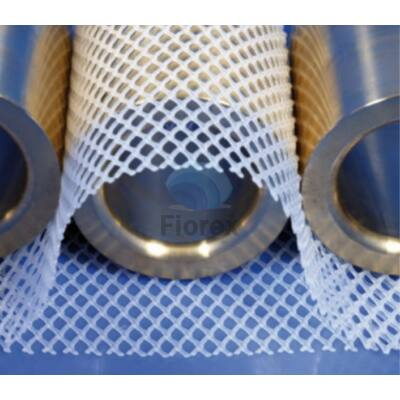 Elválasztó háló átlátszó 385mm x 50 m PP FIO-0679
