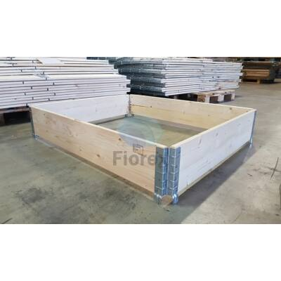 Raklapmagasító keret 80x120 Új Ipari minőség FIO-0168