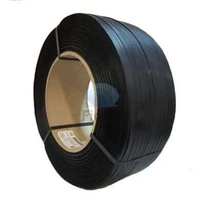 Kézi pántolószalag 12x0,7/250x160 fekete PP FIO-0186