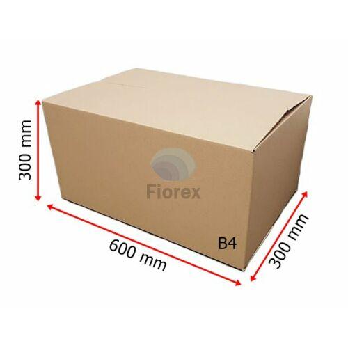 B4 600x300x300 mm 31BC, 5 retegu Hullamkarton doboz