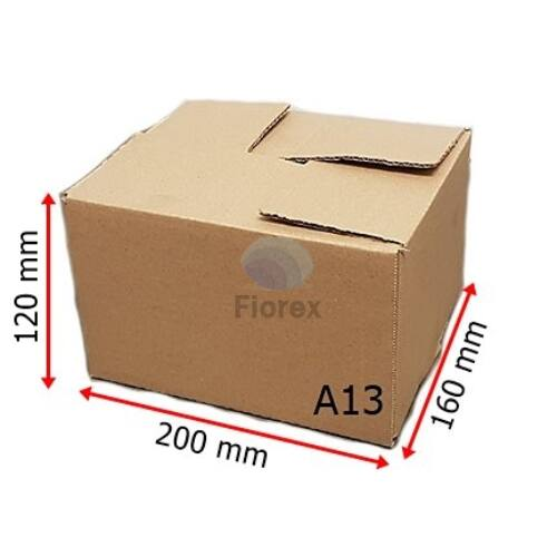 A13 doboz 200x160x100mm TF kartondoboz