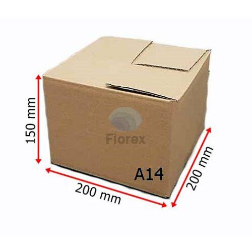 A14 doboz 200x200x150mm TF kartondoboz