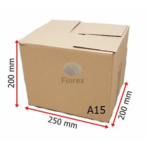 A15 doboz 250x200x200mm TF kartondoboz