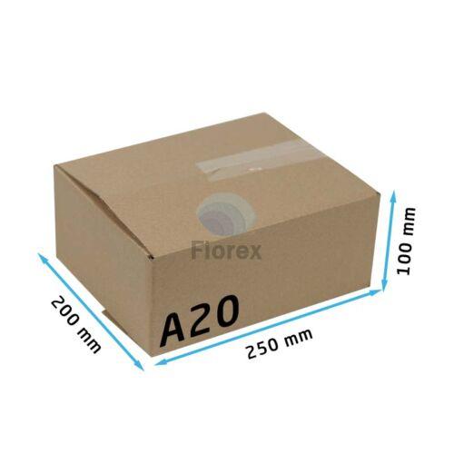 A20 doboz 250x200x100mm TF kartondoboz