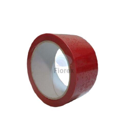 Ragasztószalag Biztonsági 50mm x 50m piros 623 F PET FIO-1140