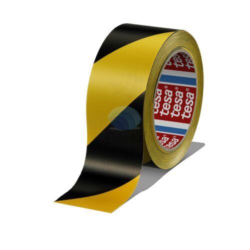 Padlójelölő kétszínű Tesa 60760 33/50, fekete-sárga
