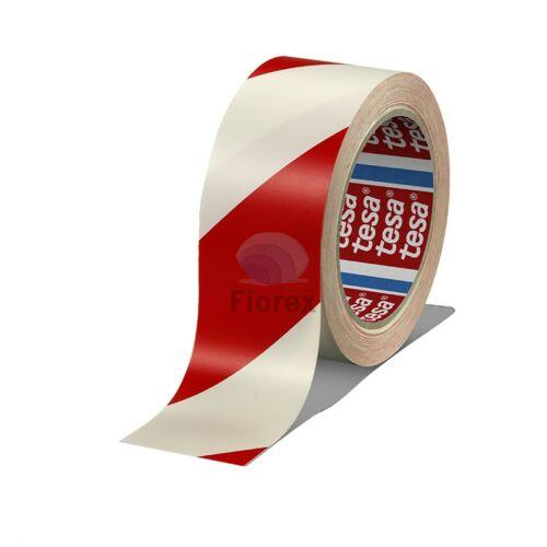 Padlójelölő kétszínű Tesa 60760 33/50, piros-fehér