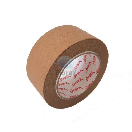 Ragasztószalag Vibac papír 50x50 öntapadós, barna