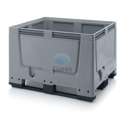 Muanyag kontener 120x100x79 3 csuszotalpas BBG 1210K