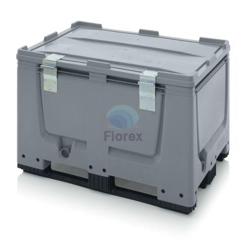 Muanyag kontener + teto 3 talpas 80x120x79 BBG 1208K SA