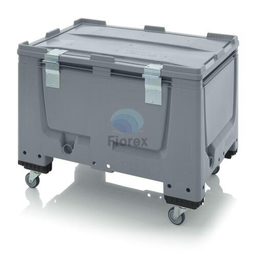 Muanyag gorgos kontener + teto  80x120x79 BBG 1208 SA