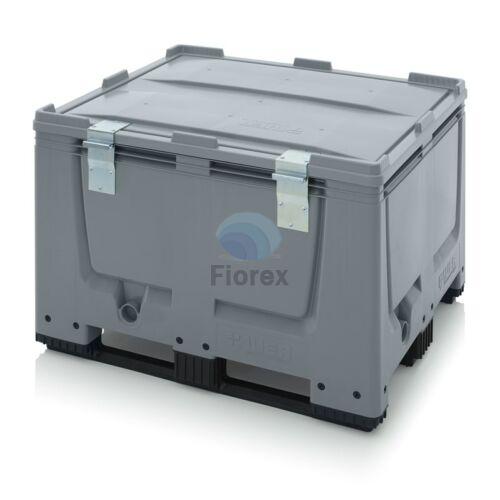 Muanyag 3 talpas kontener + teto 100x120x790 BBG 1210K SA