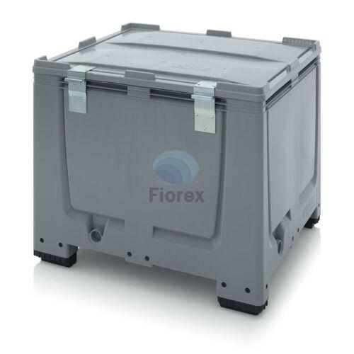 Muanyag kontener +teto 100x120x100 MBG 1210 SA