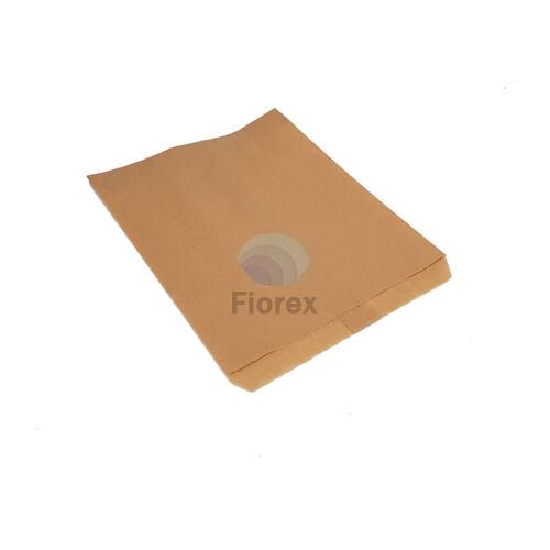 Papirtasak oldalredo nelkuli 180x240 mm, Barna kraft