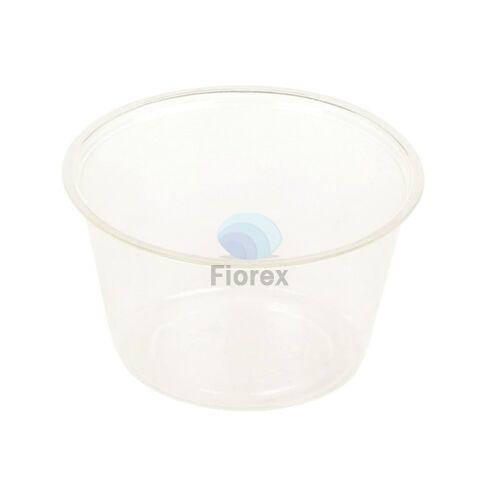 Szószos pohár 120ml,kerek, PLA, A 70mm, magasság: 48mm