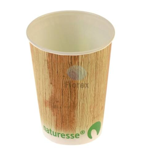 Karton pohár 1dl, pálmalevél mintával