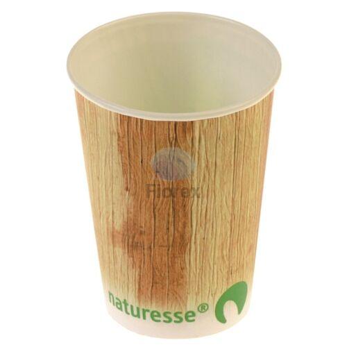 Karton pohár 4dl, pálmalevél mintával