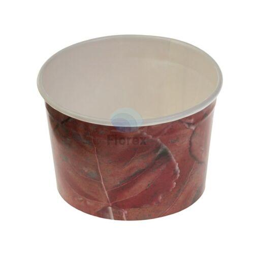 Fagyis pohár, Typo 95, űrtartalom: 135ml, piros