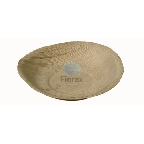 Pálmalevél tányér, kerek 18cm