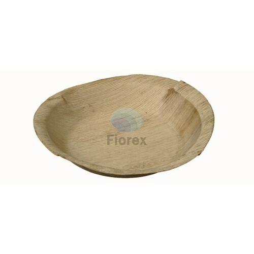 Pálmalevél tányér, kerek 20cm