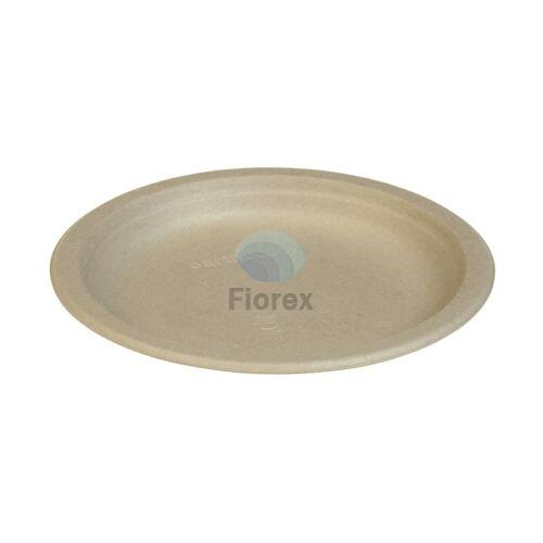 Cukornád tányér, kerek 18cm natúr