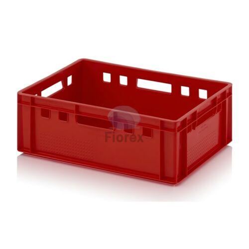 Húsos láda E2 ÚJ 60x40x20 piros