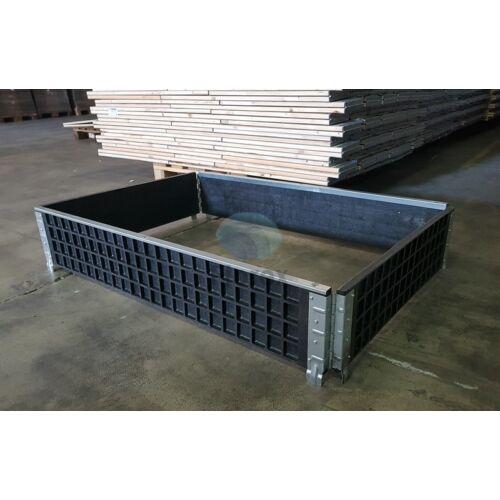 Műanyag raklapmagasító keret 80x120 FIO-0174